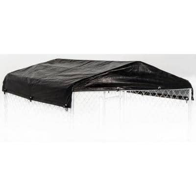 Small 5ft. X 5ft. - All Season Waterproof COVER for Lucky Dog Outdoor Kennels and Pens - Kennel NOT INCLUDED