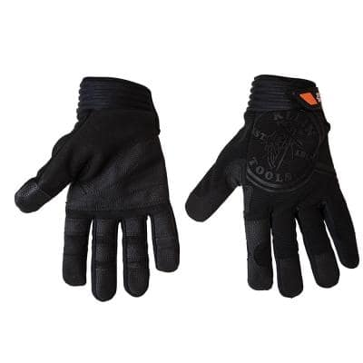 Journeyman Extra Large Black Wire Pulling Gloves