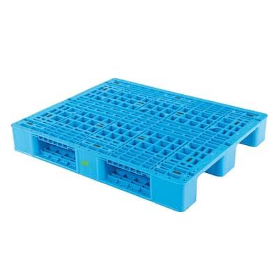 48 in. x 39 in. x 7 in. Rackable Plastic Pallet/Skid