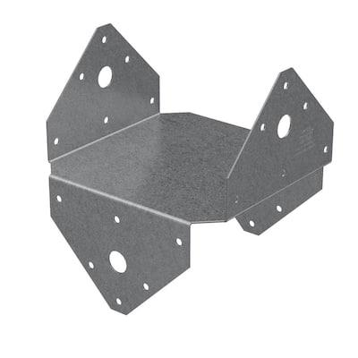 BC ZMAX Galvanized Post Cap for 6x Nominal Lumber