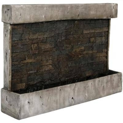 24 in. Ancient Outdoor Wall Water Fountain