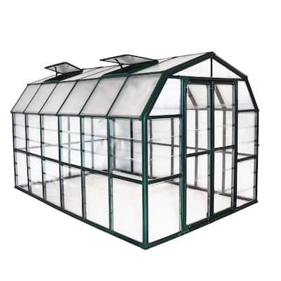 Grand Gardener Clear 8 ft. x 12 ft. Greenhouse