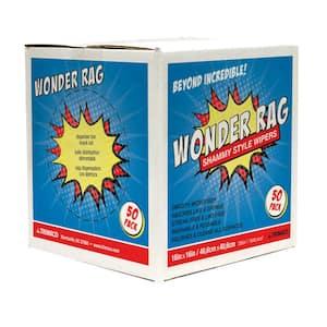 14 in. x 17 in. Microfiber Wonder Rags (50-pack)