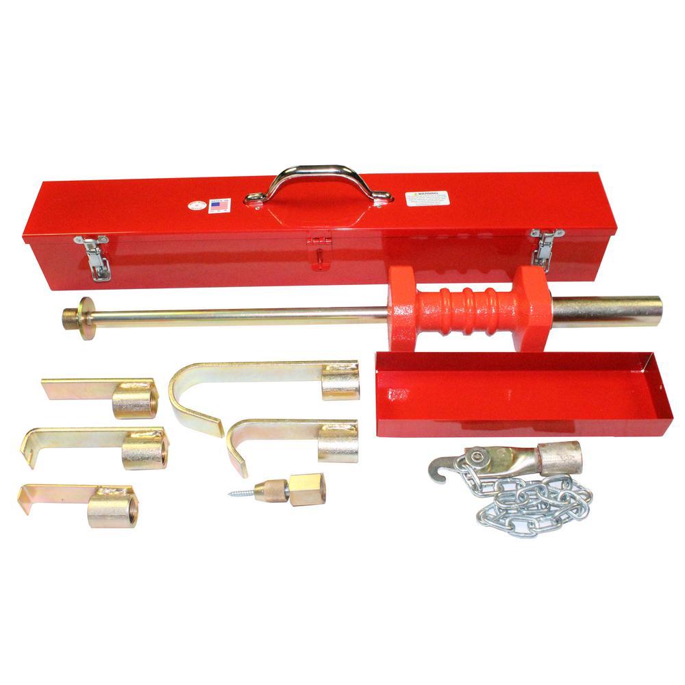 Steel Knocker Sr. Set in Tool Box