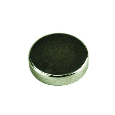 0.47 in. Neodymium Rare-Earth Magnet Discs (6 per Pack)