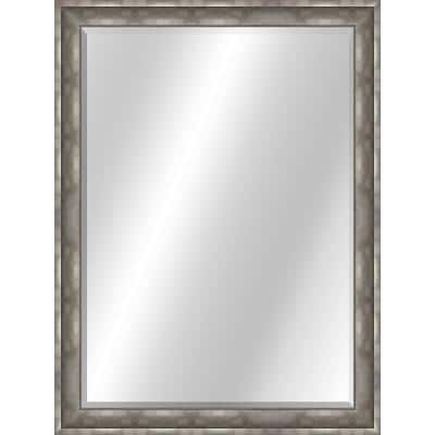 Sterling 29 in. x 48 in., Curved Value Core Pewter Framed Rectangular Mirror
