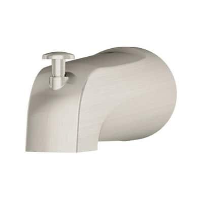 Diverter Tub Spout in Satin Nickel