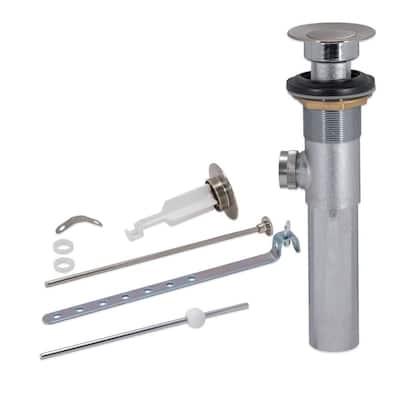 20-Gauge Pop-Up Assembly, Brushed Nickel