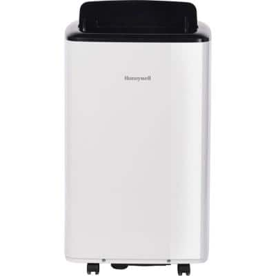 8,000 BTU (5000 BTU DOE) Portable Air Conditioner with Dehumidifier in White