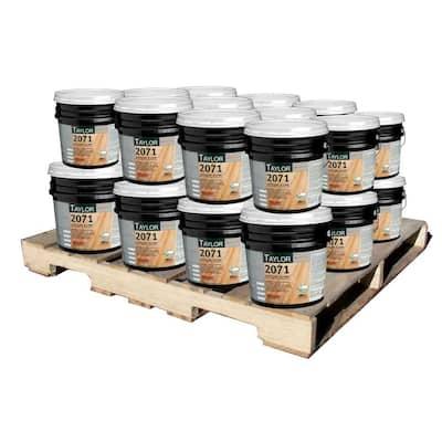 2071 4 Gal. Tuff-Lok X-Link Wood Flooring Adhesive with Meta-Tec Technology (24-Pallet)