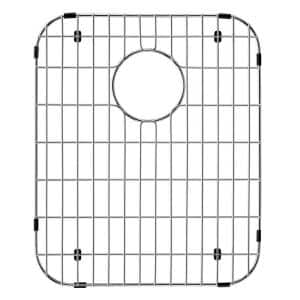 17 in. x 14 in. Kitchen Sink Bottom Grid in Stainless Steel