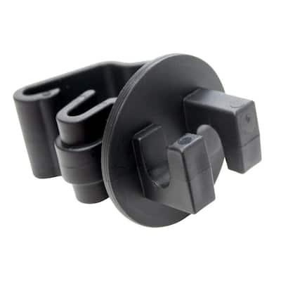 Black T-Post Insulator (25-Bag)