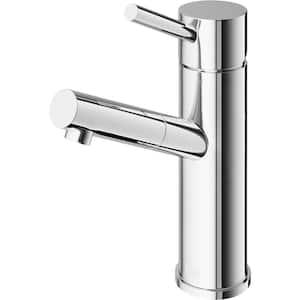 Noma Single Hole Single-Handle Bathroom Faucet in Chrome