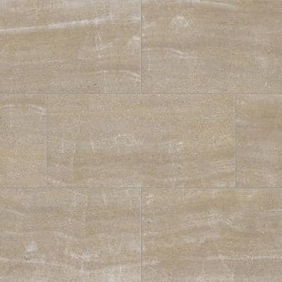 Buttermilk Beige 12 in. W x 23.82 in. L Luxury Vinyl Plank Flooring (23.82 sq. ft.)