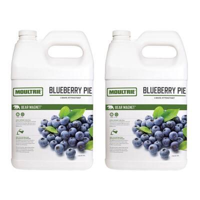 Bear Magnet 1 Gal. Liquid Scent Attractant, Blueberry Pie (2-Pack)