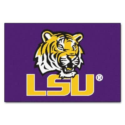 Louisiana State University Sports Rugs Rugs The Home Depot