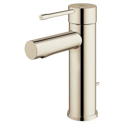 Essence New Single Hole Single-Handle 1.2 GPM Bathroom Faucet in Polished Nickel
