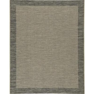 Lansing Black 7 ft. 10 in. x 10 ft. Area Rug