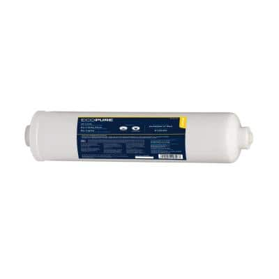 External In-Line Refrigerator Water Filter - Universal Fit