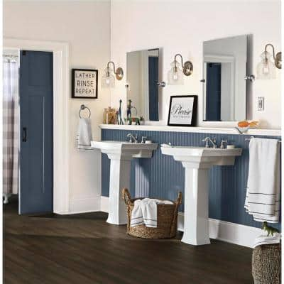 Poway 7 mm T x 5.12 in. W x 36.22 in. L Waterproof Engineered Click Bamboo Flooring (15.45 sq. ft./case)