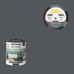 1 qt. Charcoal Gray Interior Floor Base Coating