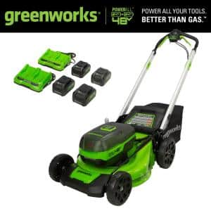 Greenworks 21in 48V Battery Cordless Self-Propelled Lawn Mower Deals