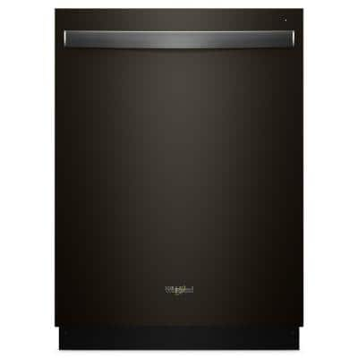 24 in. Fingerprint Resistant Black Stainless Top Control Built-In Tall Tub Dishwasher with Fan Dry, 51 dBA