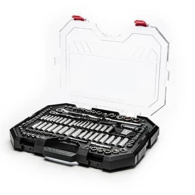Clear Case Mechanics Tool Set (135-Piece)