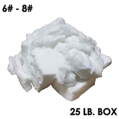 Ceramic Bulk Fiber (6-8# Densities 2300F) 24L x 18W x 18H 25 lbs (R-Value 56.75) Box for Chimney and Furnace Insulation