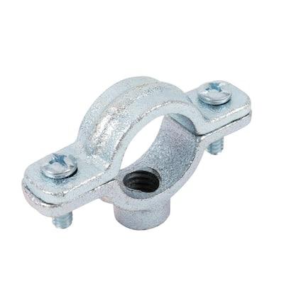 1 in. Galvanized Split Ring Pipe Hanger