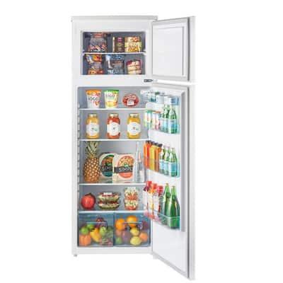 13 cu. ft. 370 l Solar DC Top Freezer Refrigerator Danfoss/Secop Compressor in White