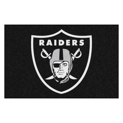 NFL - Las Vegas Raiders Rug - 19in. x 30in.