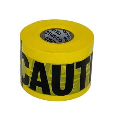 3 in. 250 ft. Direct Burial Gas Caution Tape