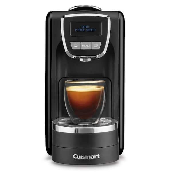 1-Cup Espresso Defined Black Espresso Machine