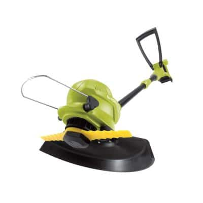 10 in. 24-Volt Cordless Sharper Blade Stingless Lawn Trimmer (Tool Only)