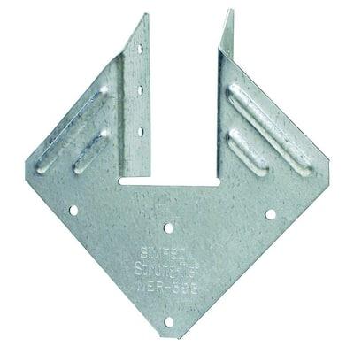 H1 18-Gauge Galvanized Hurricane Tie