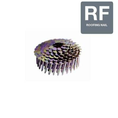 1-3/4 in. x 0.120 in. Electro-Galvanized Metal Coil Roofing Nails (7,200 per Box)