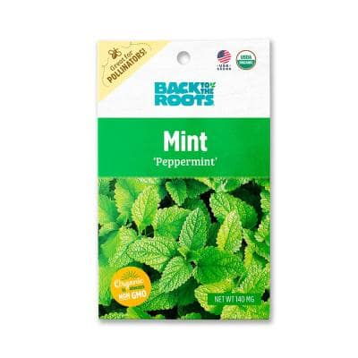 Organic Peppermint Mint Seed (1-Pack)