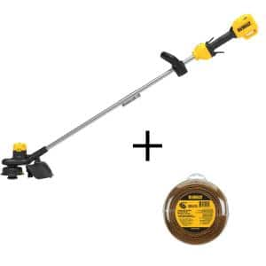 20-Volt Cordless String Trimmer (Tool Only) with 0.080 in. x 225 ft. Replacement Trimmer Line