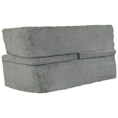 Terrado Veneto Ash Stacked Stone Corner (4 sq. ft. / case)