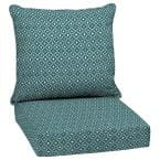 24 x 24 Alana Tile 2-Piece Deep Seating Outdoor Lounge Chair Cushion