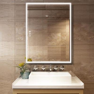 Led Light Bathroom Mirrors Bath, Bathroom Mirror Lights Led