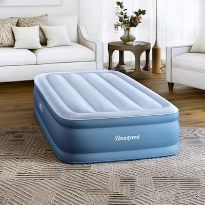 Beautyrest Sensa-Rest 14 in. Twin Air Mattress with Inset Pump