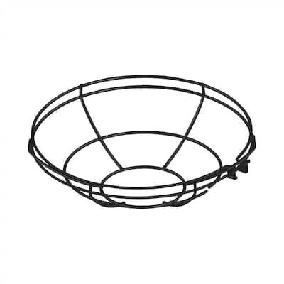 R Series 10 in. Satin Black Wire Guard Accessory