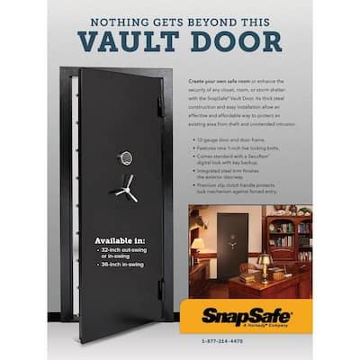 36 in. W x 80 in. H Vault Room Safe Door