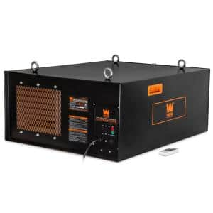 4.2 Amp 3-Speed Remote-Controlled Industrial-Strength Air Filtration System (750/950/1270 CFM)