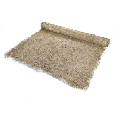 8 ft. x 112.5 ft. Polypropylene Single Net Straw Erosion Control Blanket