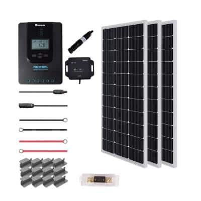300-Watt 12-Volt Off-Grid Solar Premium Kit