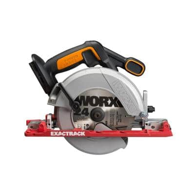 POWER SHARE 20-Volt 6-1/2 in. Circular Saw (Tool Only)