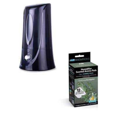 1.1 Gal. Cool Mist Humidifier with Aromatherapy Refill, Eucalyptus